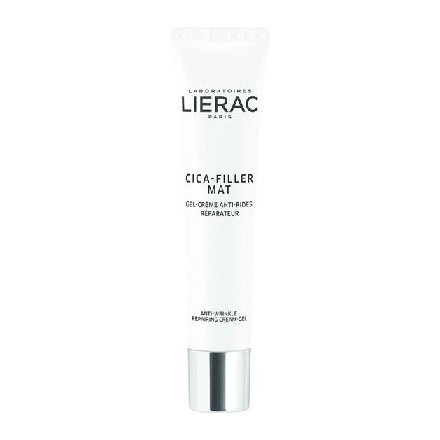 Lierac Cica-Filler Mat Anti-Wrinkle Repairing Cream-Gel Αντιρυτιδική Gel-Κρέμα Επανόρθωσης για Κανονικές/Μικτές Επιδερμίδες 40m