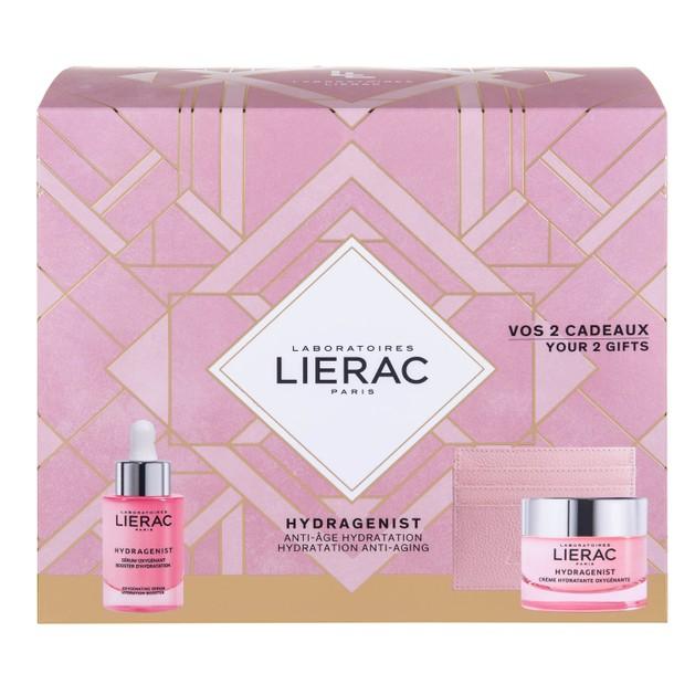 Lierac Promo Hydragenist Oxygenating Serum 30ml & Δώρο Hydragenist Cream 50ml & Rue des Fleurs Θήκη για Κάρτες