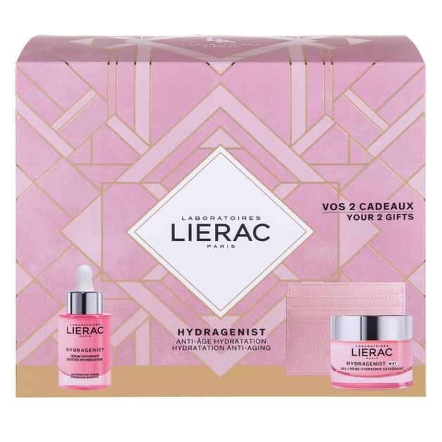 Lierac Promo Hydragenist Oxygenating Serum 30ml & Δώρο Hydragenist Gel-Cream Mat 50ml & Rue des Fleurs Θήκη για Κάρτες
