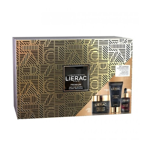 Lierac Gift Box Premium la Creme Soyeuse 50ml & Le Masque Anti-Age Absolu 75ml & Δώρο Booster Serum 30ml