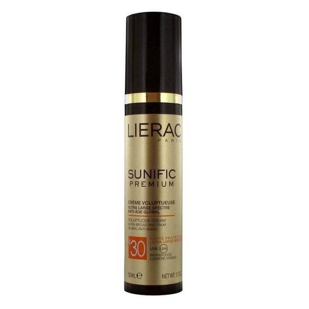 Lierac Sunific Premium Creme Spf30 Vis Αντηλιακή Προστασία Εξαιρετικά Ευρέος Φάσματος 50ml
