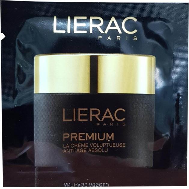 Δείγμα Lierac Premium Creme Voluptuese Original Texture Ημέρας-Νύχτας 24ωρη Κρέμα Απόλυτης Αντιγήρανσης Λειαίνει & Συσφίγγει 2ml