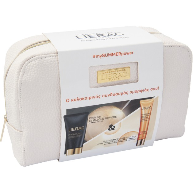 Lierac Πακέτο Προσφοράς Premium La Masque Θεϊκή Μάσκα Απόλυτης Αντιγήρανσης 75ml & Sunissime Fluide Protecteur Spf50+, 40ml