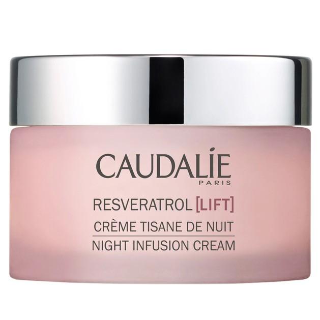 Caudalie Resveratrol Lift Night Infusion Cream Κρέμα Νύχτας με Συσφιγκτική & Αντιρυτιδική Δράση 25ml