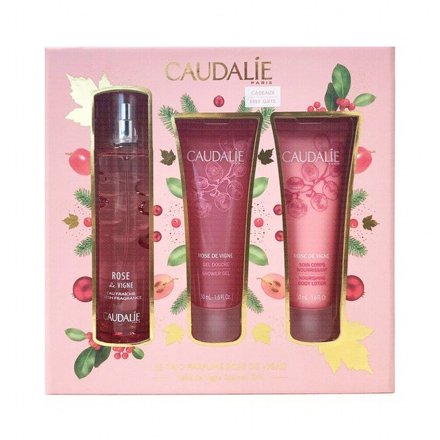 Caudalie Promo Rose De Vigne Fragrance 50ml & Δώρο Rose de Vigne ShowerGel 50ml & Δώρο Rose de Vigne Nourishing Body Lotion 50ml