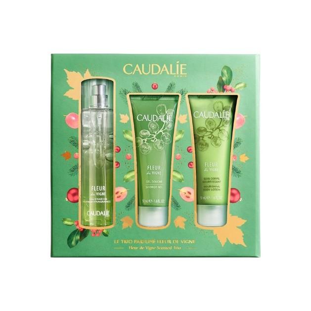 Caudalie Promo Eau de Vignes Scented Trio Fresh Fragrance 50ml & Δώρο Body Lotion 50ml & Shower Gel 50ml