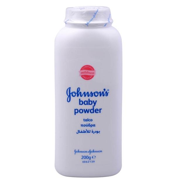 Johnson\'s Baby Powder Πούδρα που Απορροφά Απαλά την Υπερβολική Υγρασία 200gr