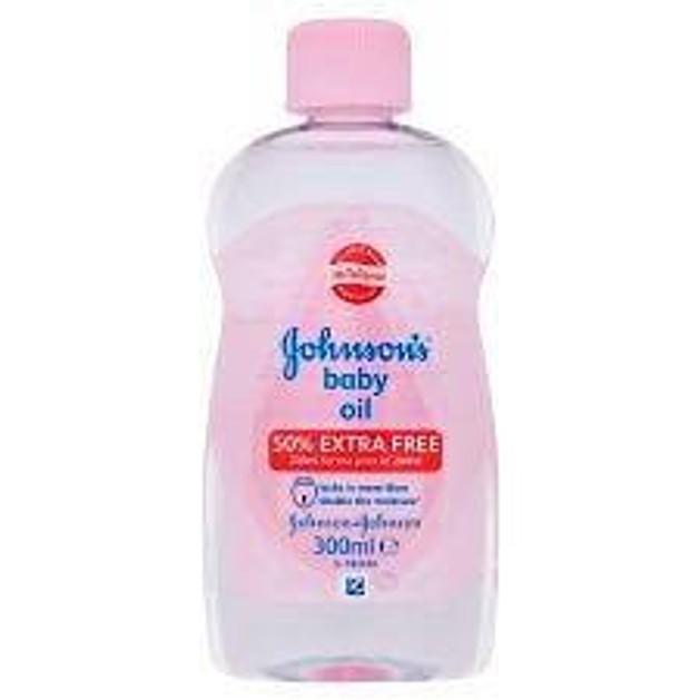 Johnson's Baby Oil Ενυδατώνει Τη Βρεφική Επιδερμίδα 300ml