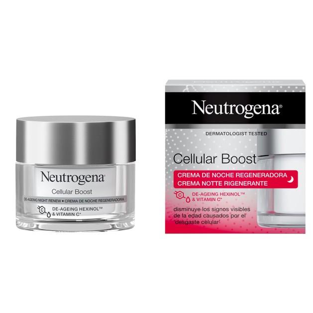 Neutrogena Cellular Boost De-Ageing Night Cream Αντιγηραντική Κρέμα Νυκτός 50ml