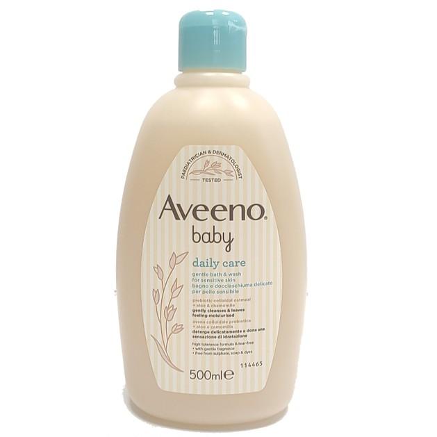 Aveeno Baby Daily Care Gentle Bath & Wash Απαλό Βρεφικό Καθαριστικό Σώματος 500ml