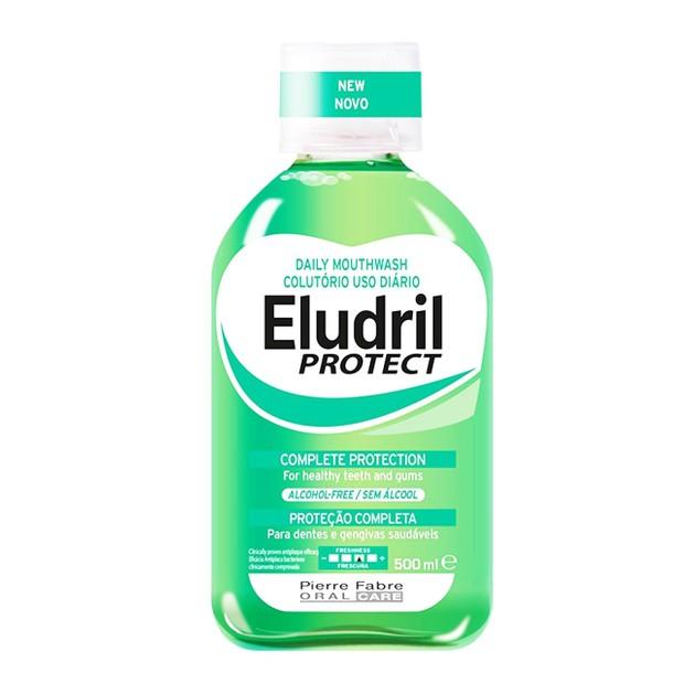 Eludril Protect Στοματικό Διάλυμα για Υγιή Δόντια και Ούλα 500ml