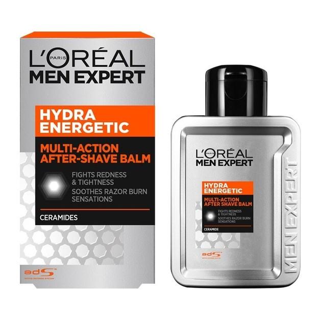 L\'oreal Paris Men Expert Hydra Energetic After Shave Balm Βάλσαμο Κατά της Ερυθρότητας & της Αίσθησης Τραβήγματος 100ml