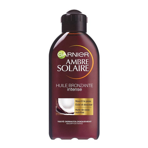 Garnier Ambre Solaire Bronzing Coco Oil Intense Λάδι Μαυρίσματος με Άρωμα Καρύδας 200ml
