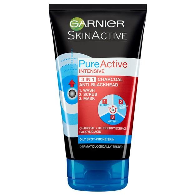 Garnier Pure Active Intensive Charcoal Mask 150ml
