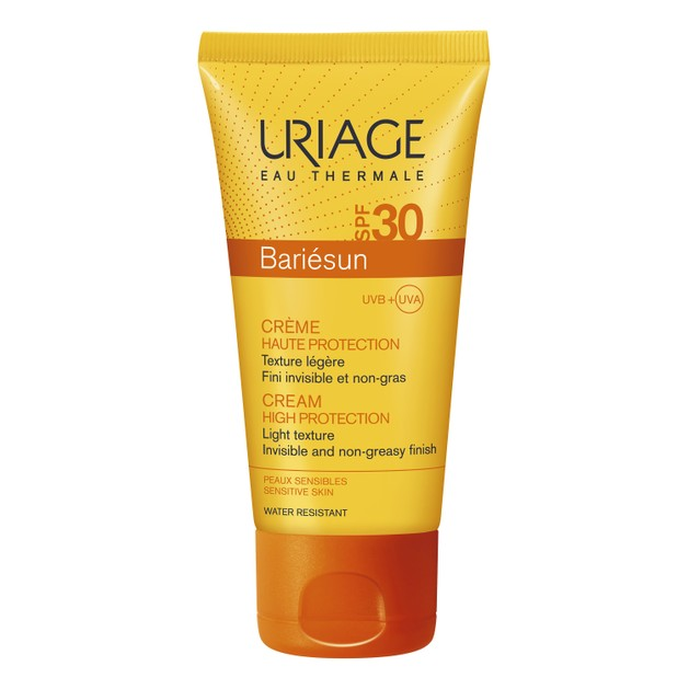 Uriage Bariesun Cream Spf30 High Protection Αντηλιακή Κρέμα Προσώπου Υψηλής Προστασίας Ελαφριάς Υφής 50ml