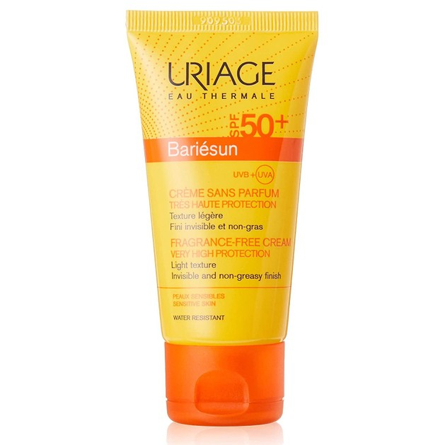 Uriage Bariesun Cream Spf50+ Very High Protection Αντηλιακή Κρέμα Προσώπου Πολύ Υψηλής Προστασίας Ελαφριάς Υφής 50ml