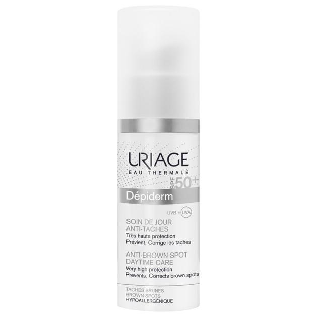 Uriage Eau Thermale Depiderm Anti Brown Spot Daytime Care SPF50+ Συμβάλλει στην Πρόληψη των Καφέ Κηλίδων 30ml