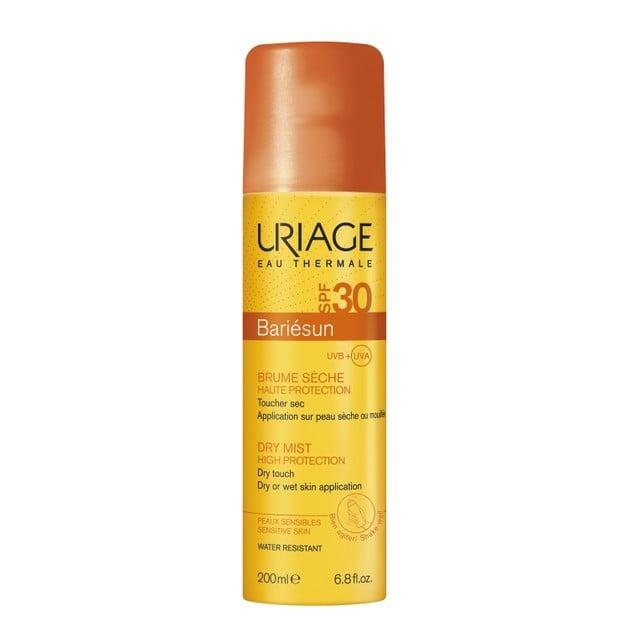 Uriage Bariesun Spf30 Dry Mist High Protection Αντηλιακό Mist Προσώπου Σώματος Υψηλής Προστασίας για Ματ Αποτέλεσμα 200ml