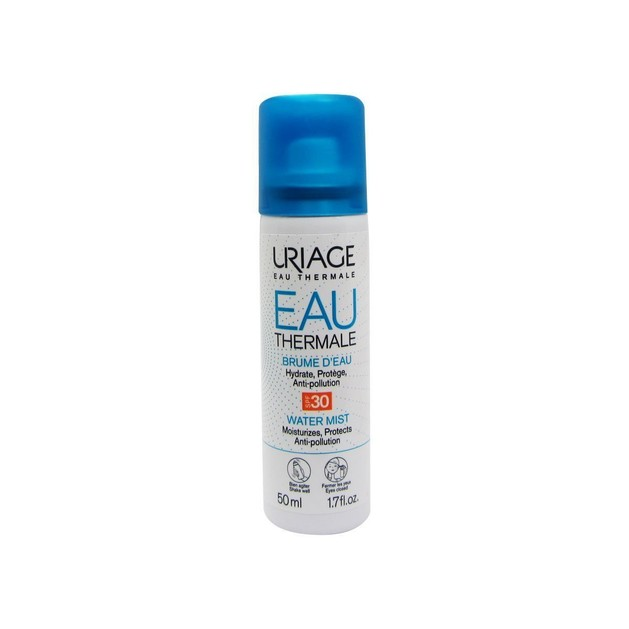 Uriage Eau Thermale Water Mist SPF30 Ενυδατώνει και Προστατεύει Πλήρως το Δέρμα Ενάντια στην Ακτινοβολία UV και τη Ρύπανση 50ml
