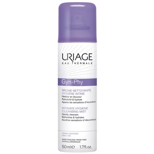 Uriage Eau Thermale Gyn-Phy Intimate Hygiene Cleansing Mist Καθαρίζει Αναζωογονεί και Καταπραΰνει την Ευαίσθητη Περιοχή 50ml