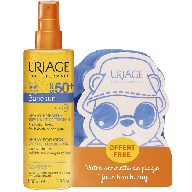 Uriage Promo Bariesun Spf50+ Enfants/Kids Spray Βρεφικό Παιδικό Αντηλιακό Γαλάκτωμα Πολύ Υψηλής Προστασίας Πρόσωπο & Σώμα 200ml