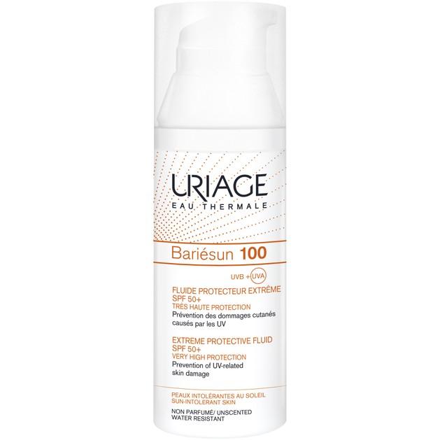 Uriage Bariesun 100 Extreme Protective Fluid Spf50+ Very High Protection Αντηλιακή Κρέμα Εξαιρετικά Υψηλής Προστασίας 50ml