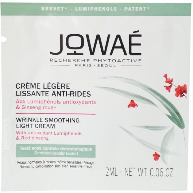 Δείγμα Jowae Wrinkle Smoothing Light Cream Αντιρυτιδική Λειαντική Κρέμα Προσώπου Ελαφριάς Υφής,Κανονικές-Μικτές Επιδερμίδες 2ml