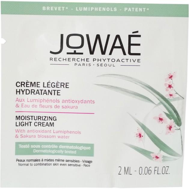 Δείγμα Jowae Moisturizing Light Cream Αέρινη Ενυδατική Κρέμα Προσώπου για Κανονικές-Μικτές Επιδερμίδες 2ml
