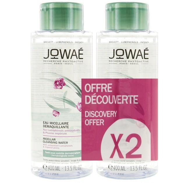 Jowae Duo Pack Micellar Cleansing Water Νερό Καθαρισμού & Ντεμακιγιάζ Προσώπου-Ματιών με Μικύλλια 2x400ml