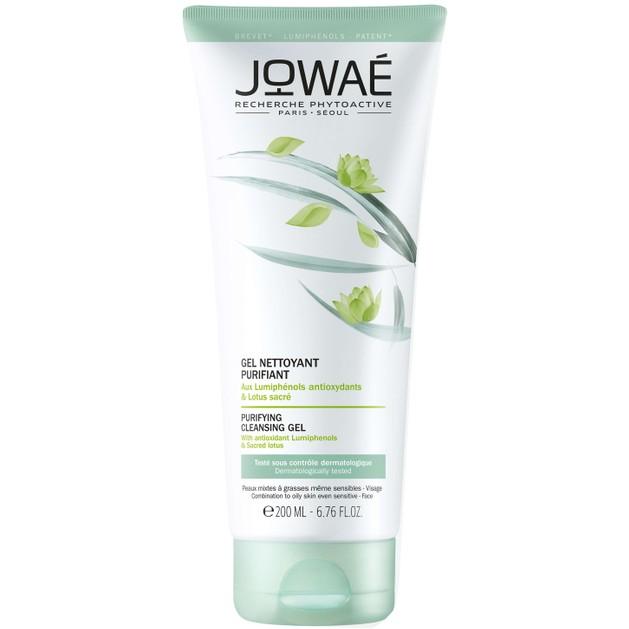 Jowae Purifying Cleansing Gel Εξυγιαντικό Gel Καθαρισμού Προσώπου για Μικτές-Λιπαρές Επιδερμίδες & Ματ Αποτέλεσμα 200ml