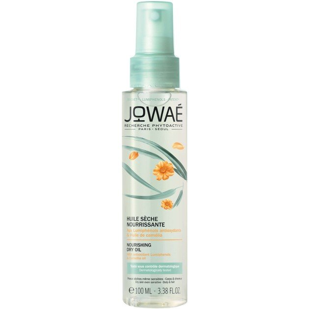 Jowae Nourishing Dry Oil Ξηρό Θρεπτικό Λάδι για Ξηρές Ευαίσθητες Επιδερμίδες, Σώμα & Μαλλιά 100ml