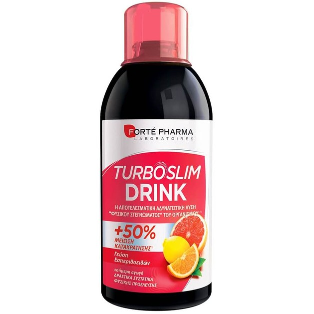 Forte Pharma Turboslim Drink Eσπεριδοειδή 500ml