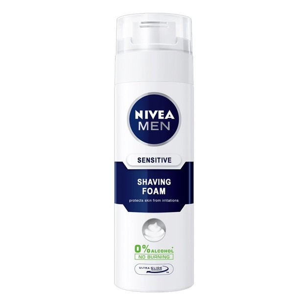 Nivea Men Shaving Foam Sensitive 200ml