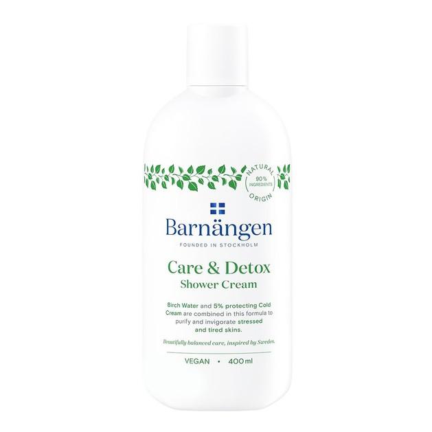 Barnangen Care & Detox Shower Cream Αφρόλουτρο για Αποτοξίνωση & Αναζωογόνηση της Επιδερμίδας 400ml