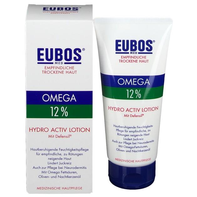 Eubos Omega 3-6-9 Hydro Active Lotion Defensil Καταπραϋντική Λοσιόν Σώματος με Ωμέγα Λιπαρά Οξέα για το Ευαίσθητο Δέρμα 200ml
