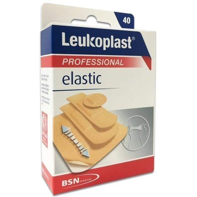BSN Medical Leukoplast Professional Elastic Αυτοκόλλητα Επιθέματα σε 4 Διαφορετικά Μεγέθη 40 Τεμάχια