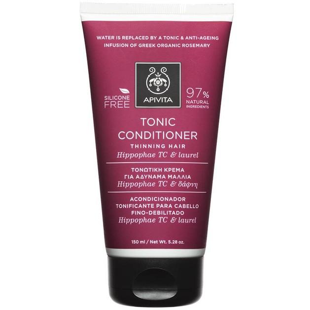 Apivita Tonic Conditioner For Thinning Hair With Hippophae TC & Laurel 150ml
