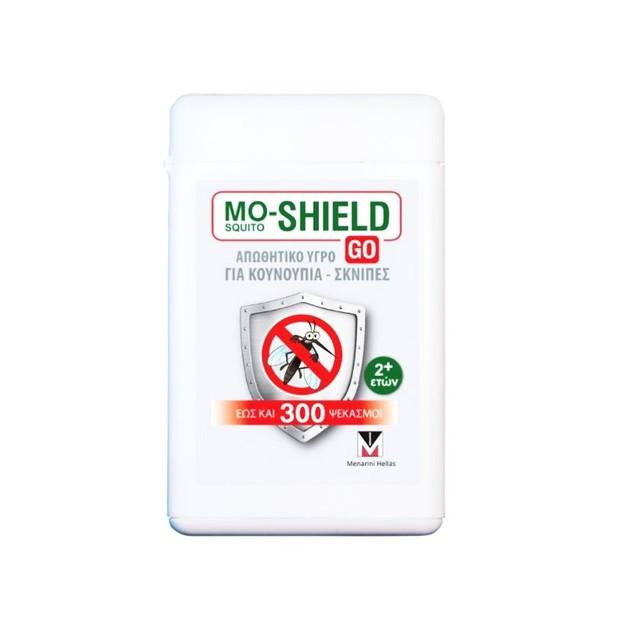 Mo-Shield Go Αντικουνουπικό Υγρό Για Κουνούπια & Σκνίπες 17ml