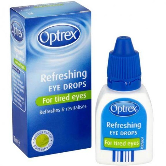 Optrex ActiDrops Αναζωογονητικές Οφθαλμικές Σταγόνες για Κουρασμένα Μάτια 10ml