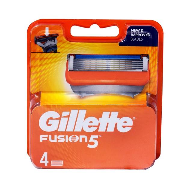 Gillette Fusion5 Ανταλλακτικά Ξυριστικής Μηχανής 4τεμάχια