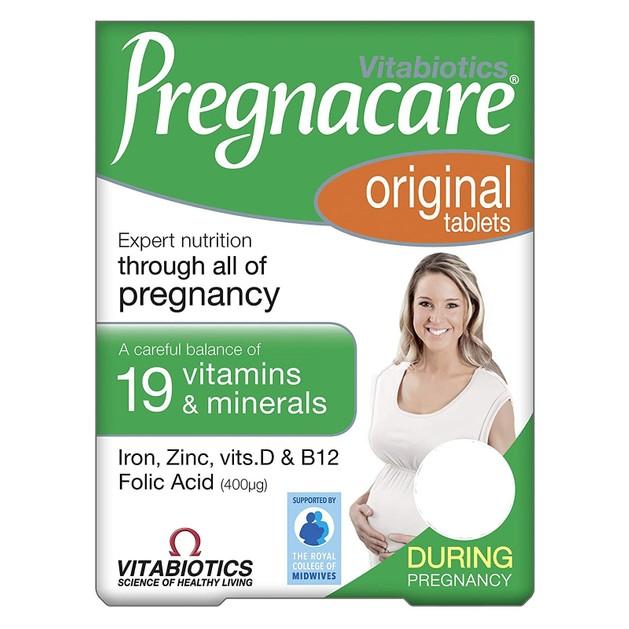 Vitabiotics Pregnacare Original  Συμπλήρωμα Διατροφής για την Υποστήριξη των Γυναικών Κατά την Περίοδο της Εγκυμοσύνης 30tabs