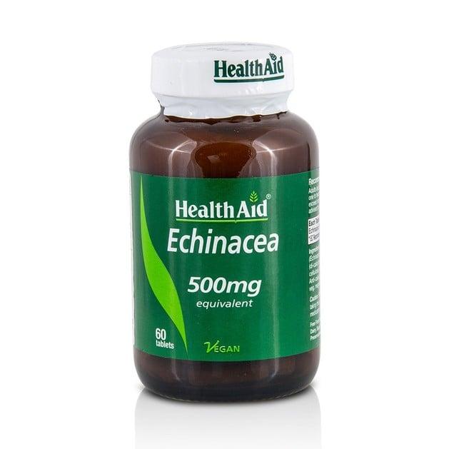 Health Aid Echinacea 500mg Συμπλήρωμα Διατροφής για Ενίσχυση του Ανοσοποιητικού Συστήματος 60tabs