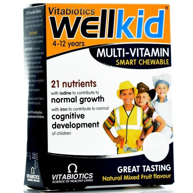 Wellkid Multi-Vitamin 30tabs - Vitabiotics