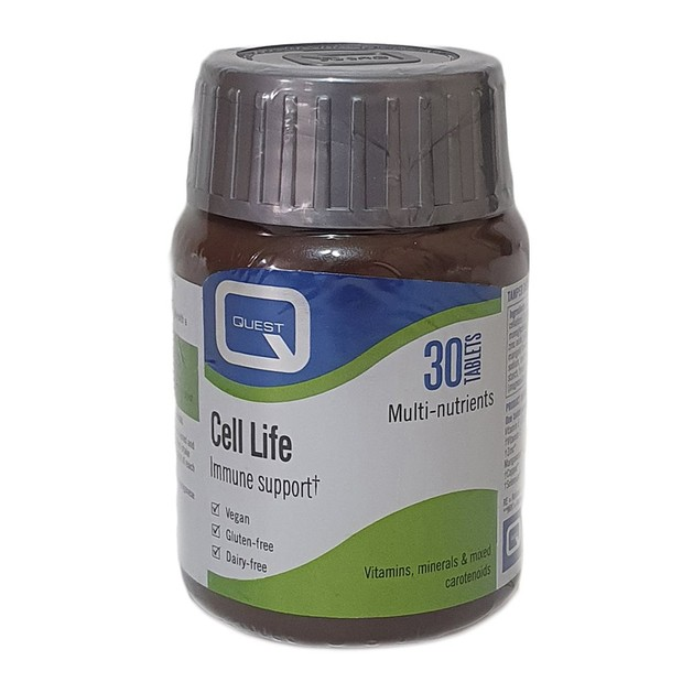 Quest Cell Life Protective Antioxidant Nutrients 30 ταμπλέτες