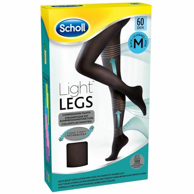Δώρο Dr Scholl Light Legs Καλσόν Διαβαθμισμένης Συμπίεσης 60 DEN Μαύρο Χρώμα MEDIUM 1τμχ