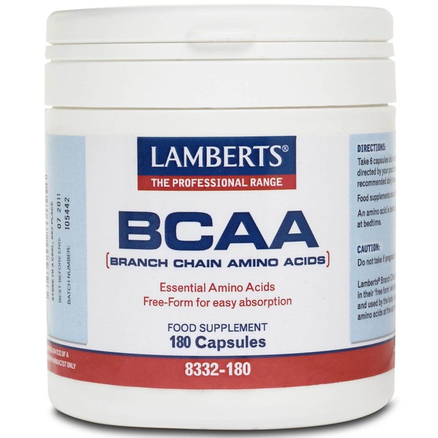 Lamberts BCAA (Branch Chain Amino Acids) 180 caps
