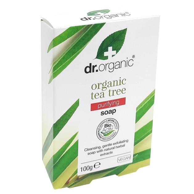 Dr.Organic Organic Tea Tree Soap 100gr