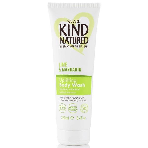 Kind Natured Lime & Mandarin Body Wash Αναζωογονητικό Αφρόλουτρο με Κίτρο & Αιθέρια Έλαια για Αίσθηση Φρεσκάδας 250ml
