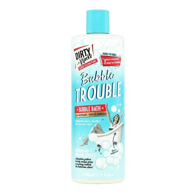 Dirty Works Bubble Trouble Bath Αφρόλουτρο με Άρωμα Τριαντάφυλλου και Μόσχου 500ml