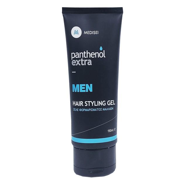 Medisei Panthenol Extra Men Hair Styling Gel Ζελέ Φορμαρίσματος Μαλλιών 150ml